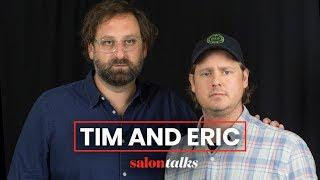 "Tim and Eric take over ""Salon Talks"""