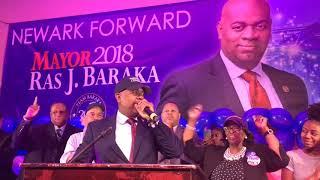 Newark Mayor Ras Baraka's election night victory party