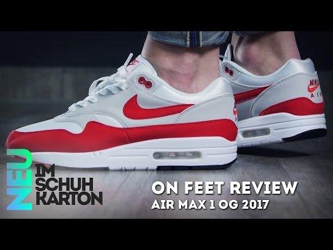 Nike Air Max 1 OG Anniversary | Review