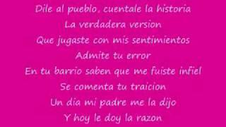 Aventura lyrics- Volvio la Traicionera