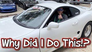 Cleetus McFarland Drives My 1200hp Supra. Gives Me Fair Warning!
