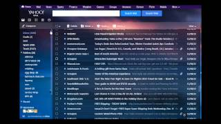 How to Delete Mass Yahoo E Mails