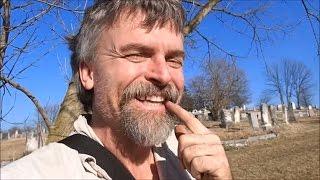 Graveyard, B&O RR, Civil War and Stinky Poo Creek: A Walk In The Woods