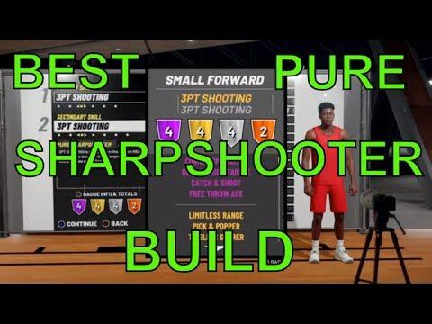Best Pure Sharpshooter Build in NBA 2k19 - GETADOSE28