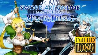 Sword Art Online;Memory Defrag Game Review 1080P Official Bandai Namco Action 2017