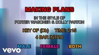 Porter Wagoner & Dolly Parton - Making Plans (Karaoke)