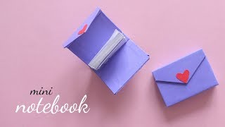 DIY Mini Notebook |  How To Make Notebook | Paper Craft Ideas