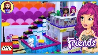 Lego Friends Livi's Pop Star House Set Build Review Play - Kids Toys