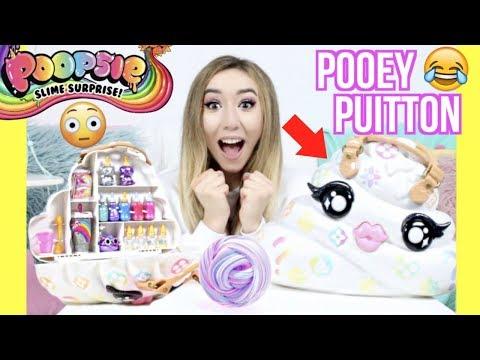 XXL Poopsie POOEY PUITTON SCHLEIM Tasche...