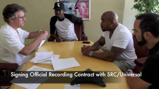 SRC/Universal Records Signing