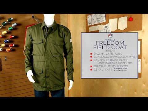 Freedom Field Coat Product Video K659T