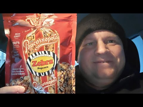 Download Popcornopolis Zebra🦓 Popcorn Taste Test Review Mp4 HD Video and MP3