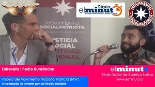 En entrevista con el Diario el Minuto,el vocero Pedro Kunstmann