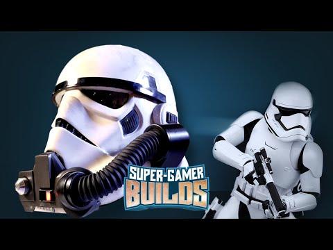 Starwars Battlefront Storm Trooper & Rebel Commando Helmets