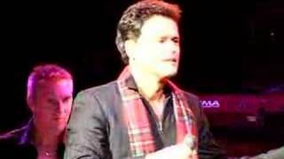 Donny Osmond  Glasgow 2007