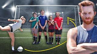 Can 4 Guys Beat A Soccer Olympian?