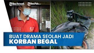 Tinggalkan Motor di Bukit Kapur, Seorang Pemuda Buat Drama Pembegalan karena Tak Kuat Susun Laporan