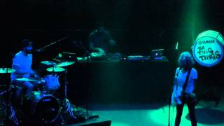 """Green Poison"" The Ting Tings@Union Transfer Philadelphia 4/10/15 Super Critical Tour"