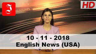 News English USA 10th Nov 2018