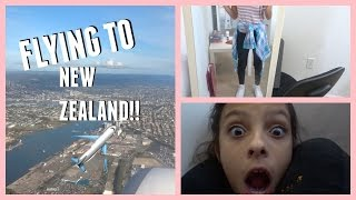 FLYING TO NEW ZEALAND!!