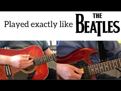 Ask Me Why Full Instrumental Cover - The Beatles