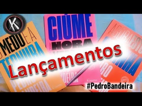 Livros novos de Pedro Bandeira | UNBOXING