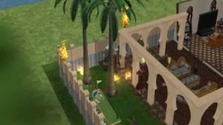 llueve fuego en los sims 2