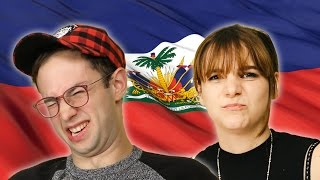 Americans Try Haitian Food For The First Time thumbnail