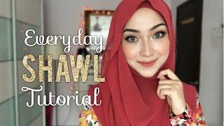 Everyday Shawl Tutorial   2 Hijab Styles