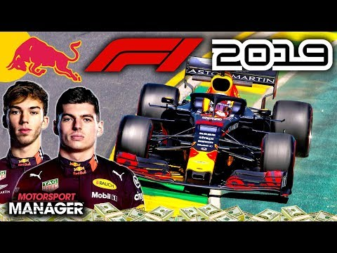 PACE TO GO FOR OUR FIRST WIN?! - F1 2019 Red Bull Honda Manager Career Part 7