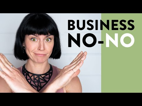 Why you should NEVER do business as yourself