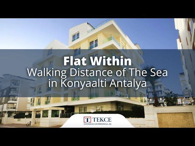 Flat Within Walking Distance of The Sea in Konyaalti Antalya
