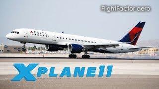 X-Plane 11 HD] The Beautiful FlightFactor 757v2 - Самые