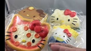 ALL NEW HELLO KITTY SQUISHIES FROM CLAIRES