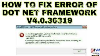 download net framework v4 30319