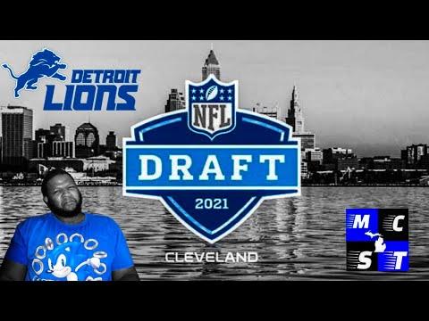 2021 Detroit Lions 2021 Mock Draft | Draft Kick Back Talk!!!