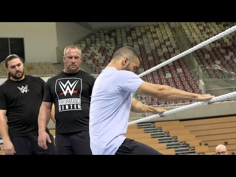 Inside look at WWE Day Two tryouts in Saudi Arabia