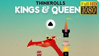 Thinkrolls: Kings & Queens Game Review 1080P Official Avokiddo Puzzle Brain Games 2016