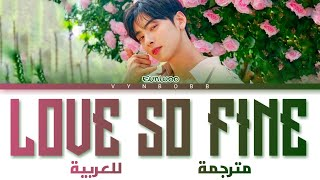 Cha Eunwoo 'Love So Fine (True Beauty OST part 8)' arabic sub (مترجمة للعربية)