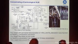 Переработка смешанного уран-плутониевого ОЯТ реакторов на быстрых нейтронах