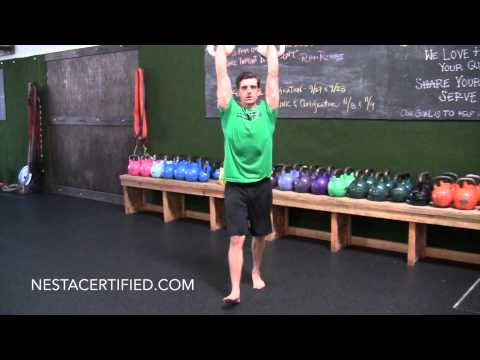 Kettlebell Overhead Carry Exercise and Proper Technique