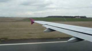 preview picture of video 'Wizzair take off at Tille (LFOB - LRCL)'