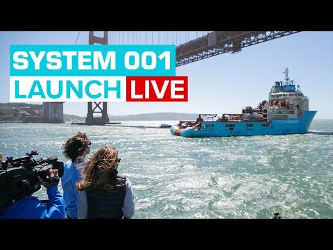 Lancement du projet The Ocean Cleanup