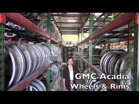 Factory Original GMC Acadia Wheels & GMC Acadia Rims – OriginalWheels.com