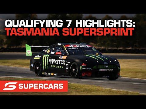 SUPERCARS 2021 タスマニアSuperSprint 予選7ハイライト動画