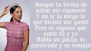 Becky G ~ NO TE PERTENEZCO ~ Lyrics
