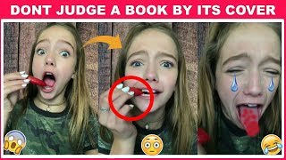 Don't Judge A Book By Its Cover Challenge - Best Ever Videos Musically Compilation 2018