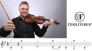 Amazing Grace Fiddlershop Group Project Tutorial - Violin 3