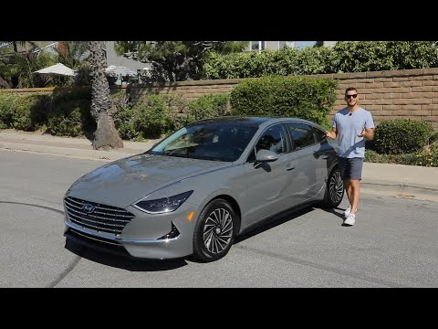 2020 Hyundai Sonata Hybrid Test Drive Video Review