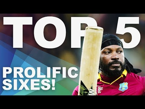The Most Sixes at the 2015 World Cup? | Top 5 Archive | ICC